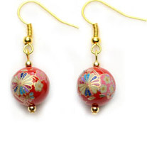 Tensha Bead Earrings