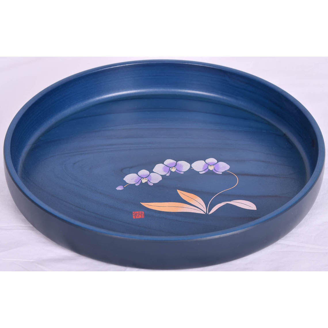 Blue Lacquer Tray Set
