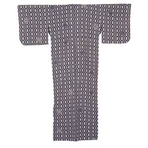 Family Crest Lattice Yukata