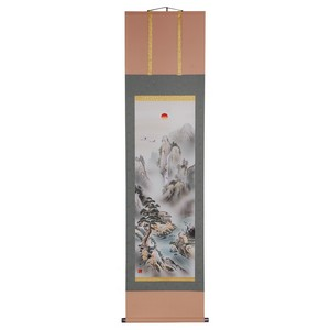 Japanese Hanging Scroll - Four Guardians Mt Horai Kakejiku