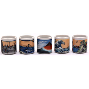 Fuji Japanese Sake Set