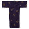 Ancient Coin Yukata, Purple-2