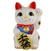 Big Japanese Fortune cat (Manekineko) - Left-1