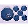 Blue Lacquer Tray Set-2