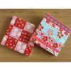 Blossom Japanese Coaster Set (of 2) - red/pink-2