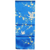 Crane and plum blossom scarf - blue-2