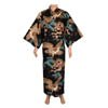 Dragon and Eagle Kimono Black-2