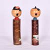 Fishing Farming Kokeshi Couple-3
