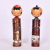 Fishing Farming Kokeshi Couple-1
