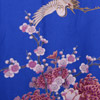 Flying Crane Wrapper (Kimono Dressing Gown) - Blue-4
