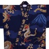 Fuji and Rising Dragon Kimono, Blue-3