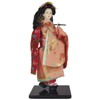 Geisha Doll with Parasol-1