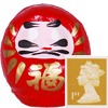 Goshiki Mini Daruma (red,blue,yellow,white,black)-2