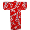 "Lady with Blossom Petite Kimono - Red (50"")-1"