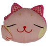 Lucky cat face purse - pink-1