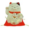 Lucky Cat with baby money bank-1