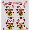 Manekineko magnets, pack of 4-3