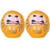 Mini Daruma - Yellow x 2-1