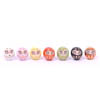 Mini Lucky Daruma Set Of 7-1