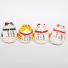 Mini Roly-Poly Manekineko Lucky Cat - Chatora-4