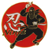Ninja Pin Badge-1