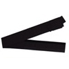 One touch Cotton Japanese Obi Belt  - black-1