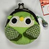 Owl purse - Green-1