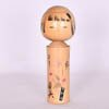 Pink Flowers Kokeshi Doll-1