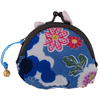Rabbit purse - white/blue-2