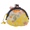 Rabbit purse - cream/yellow-2