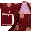 Red/Brown Cotton Haori - used-5