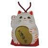 Safe Driving Feng Shui Lucky Cat bell-1