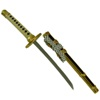 Japanese Samurai Sword Paper Knife - double set-2