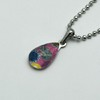 Small Teardrop necklace - Pink-2