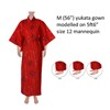 Dancing Characters Yukata - Red-4