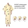 Dancing Characters Yukata, Yellow/Cream-4