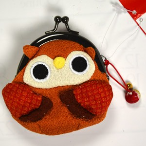 Owl purse - Brown