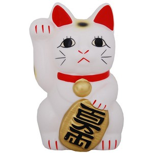 Small Japanese Fortune cat (Manekineko) - Right