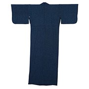 Blue Basketweave Yukata