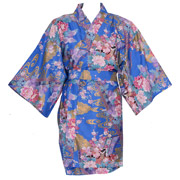 Little Kimono Princess Happi Wrapper, Blue