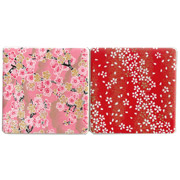 Cherry Blossom Coasters set of 2