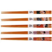 Chopsticks set of 5 - Ukiyoe design