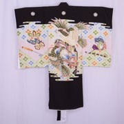 Double Hooded Hawk Boys Kimono