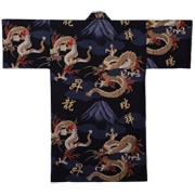 Fuji and Rising Dragon Happi, Black