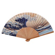 Great Wave Japanese Folding Fan