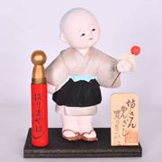 Hairpin Monk Doll