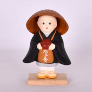 Japanese Monk Doll