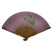 Kikyo Japanese Folding Fan