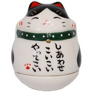 Mini Roly-Poly Manekineko Lucky Cat - Buchi