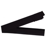 One touch Cotton Japanese Obi Belt  - black
